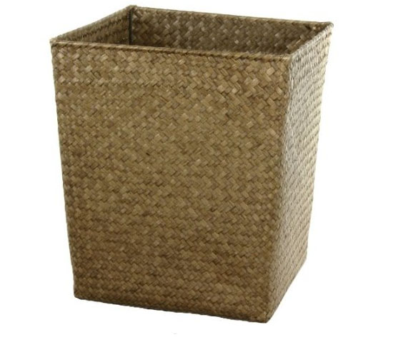 Oriental Furniture Hand Woven Natural Storage Bin Set