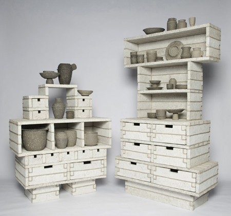Paper Pulp Cabinet