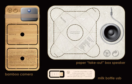 Paper Take-out Box Speaker