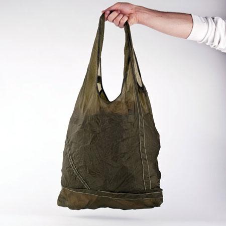 Parachute Tote: An Eco-friendly Stylish Tote Bag | Green Design Blog