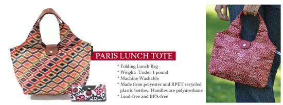 Paris Lunch Tote