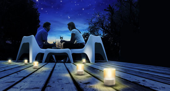 Philips Rechargeable Tea Lights