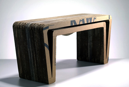 Pilcher's Cardboard Furniture