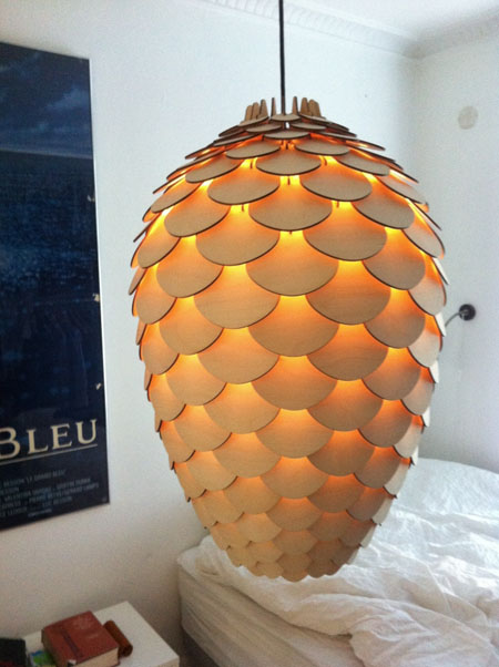 Pinecone Lamp