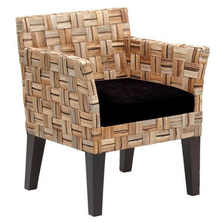 Pinzon Contemporary Arm Dining Chair | Green Design Blog