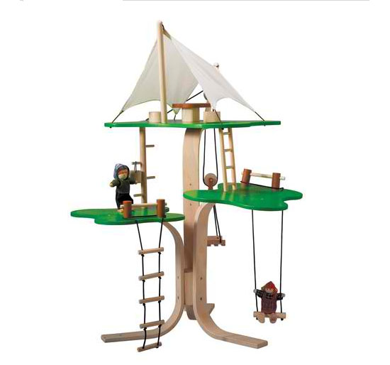 Treat Your Kids With A Safe And Eco-friendly Toys, The Plan Toys Dollhouse Tree House
