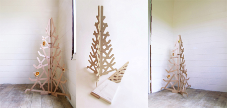 Plywood Christmas Tree