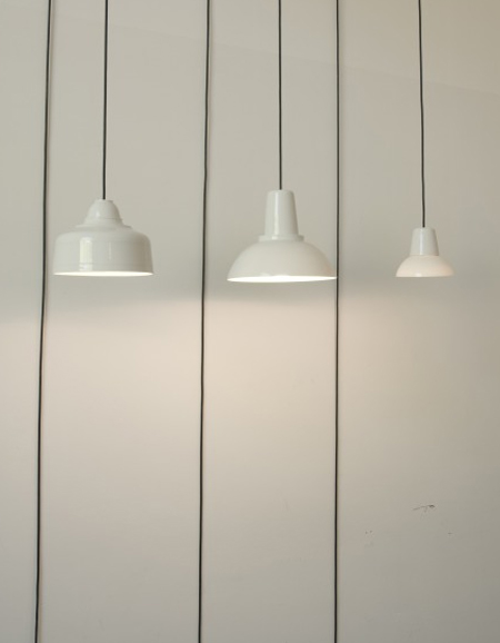 Porcelain Lamp by Laura Pregger