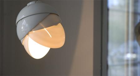 Porcelain Lamp by Laura Pregger