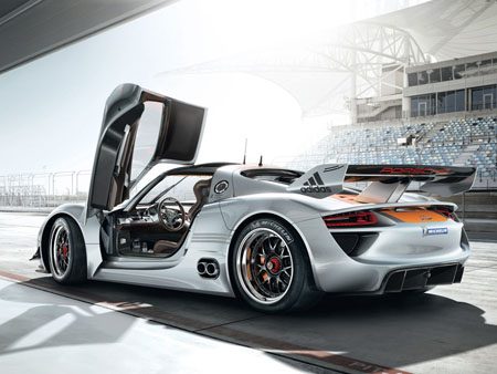 Porsche 918 Hybrid Car