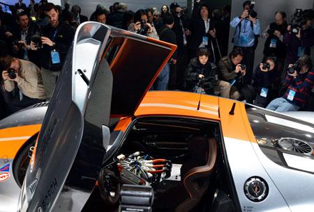 Porsche 918 Hybrid Car