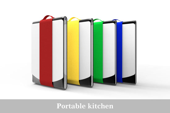 Portable Kitchen by Merwyn Wijaya