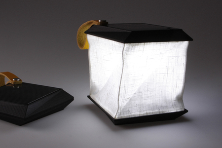 Portable Solar Powered Lamp