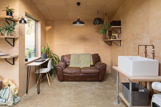 Potting Shed Multi-Use Garden Studio by Grey Griffiths Architects