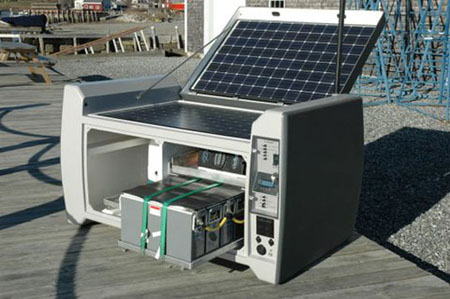 Powercube 6000 Mobile Solar Generator | Green Design Blog