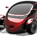 Proxima Two Seater Hybrid Vehicle