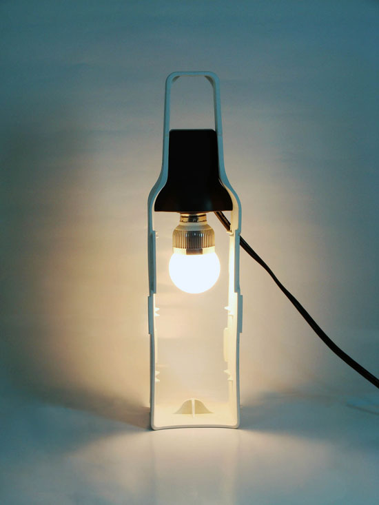 Re-Wine Wine Bottle Lamp