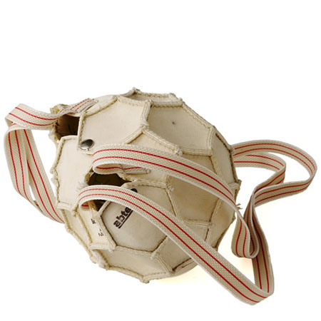 Reclaimed Soccer Ball Bag