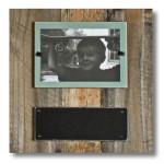 Reclaimed Wood Chalkboard Frame with Safe Plexiglass