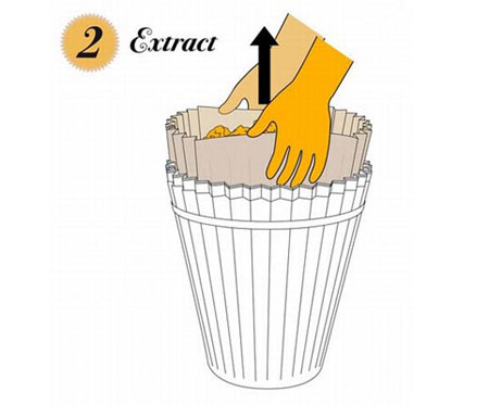 Recyclable Paper Waste Bin