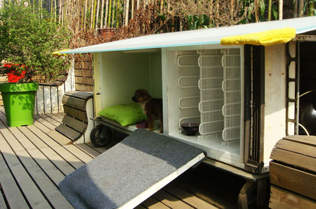 Recyceld Fridge Doghouse