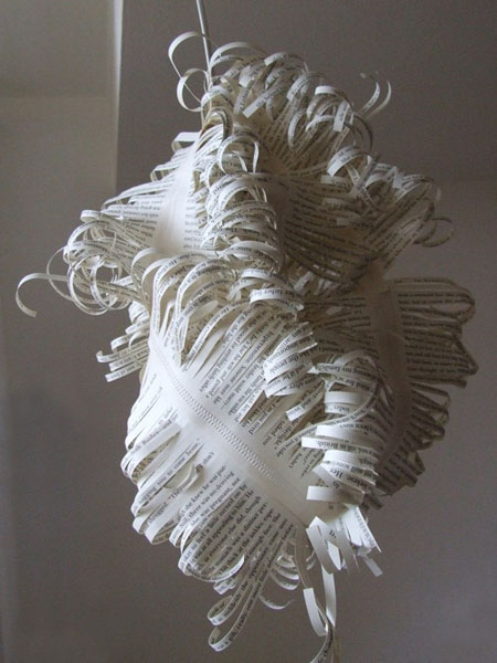 Recycled Paper Lampshade