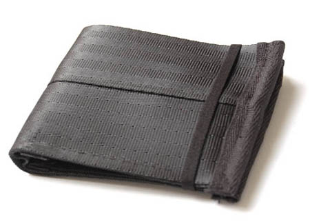 Recycled Seatbelt Wallet