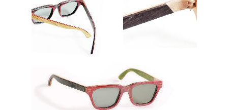 Recycled Skateboard Eyewear