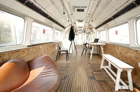 Recycled Subway Car