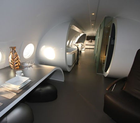 Repurposed Airplane Hotel