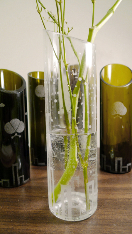 Recycle Your Wine Bottles into Elegant Glass Vases