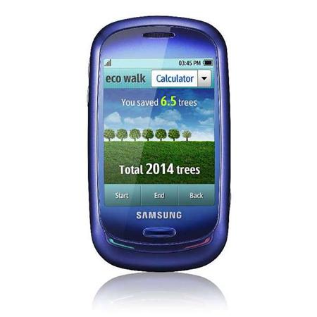 Samsung Earth Blue Solar Powered Phone