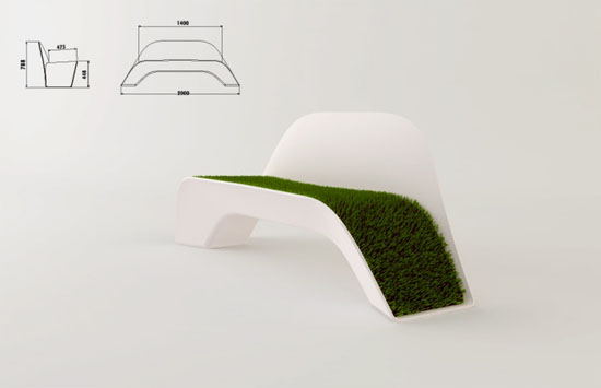 Seating on the Grass