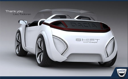 Shift Car Concept