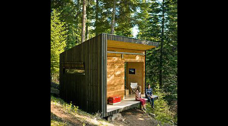 Signal Shed A Modern Off grid Signal Shed In Oregon Green