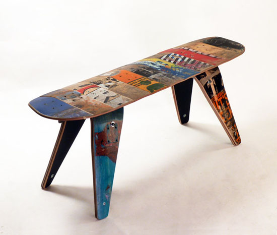 recycle your old skate to create the eco friendly