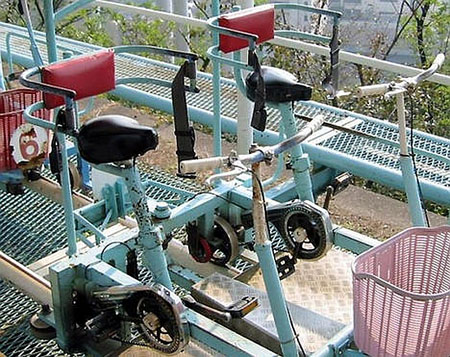 The Pedal Powered Roller Coaster