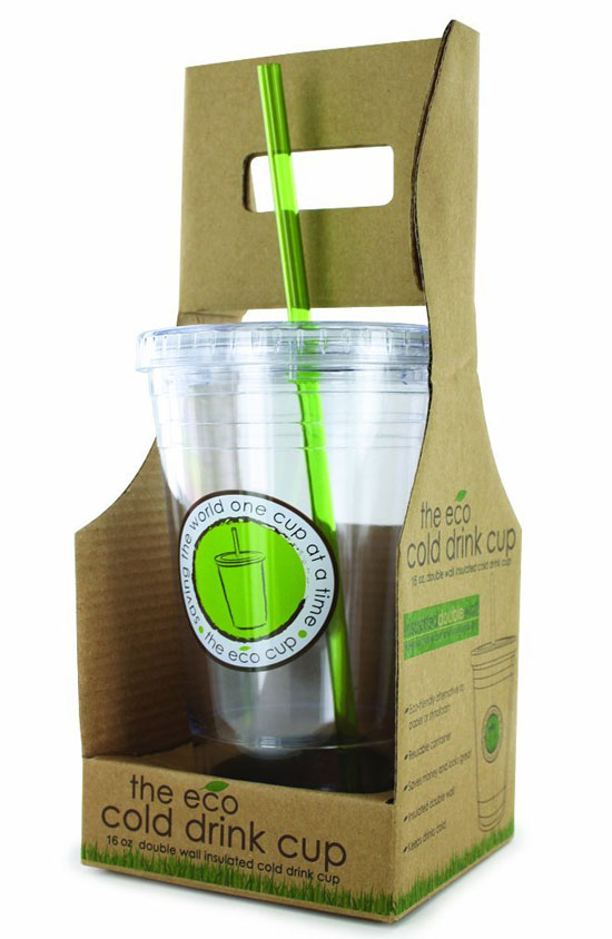 Smart Planet Double Wall Plastic Cup