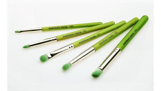 Smokey Eyes 5 Piece Eco-friendly Makeup Brush Set