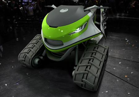 Snowmobile Concept by Dominic Schindler Creations