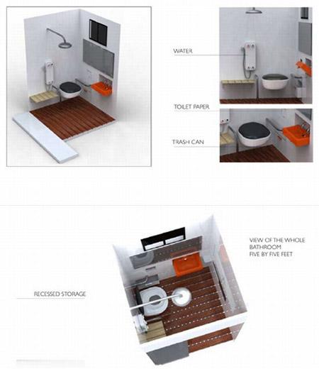 Solar Decathlon Bathroom