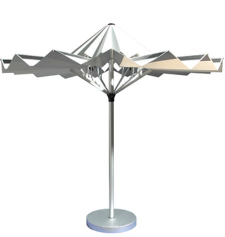 VORTEX Solar Parasol  Shed Light - Solar Eco