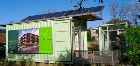 Solar Powered Container