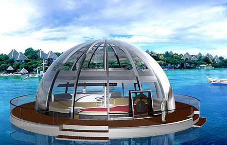 Solar Powered Houseboat