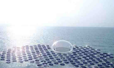 Solar Powered Hydrogen Powerplant