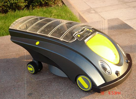 Solar Powered Lawn Mower