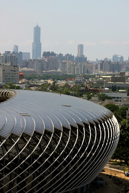Solar Powered Stadium In China