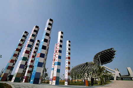 Solar Powered Stadium In China