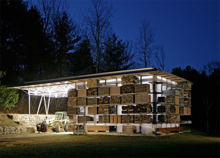Solar Storage Barn