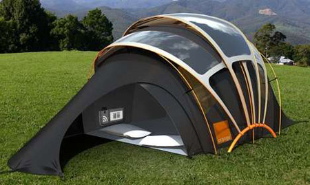 Solar Tent & Solar Tents: The Eco Friendly And High Tech Camping Material ...